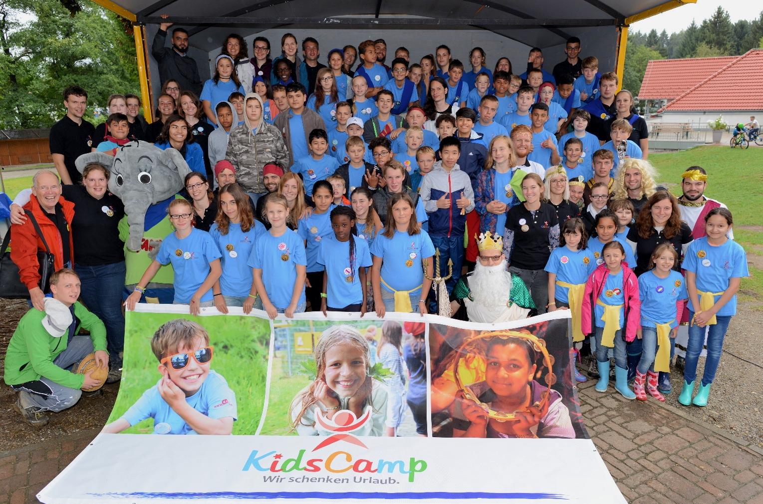 Abschlussfoto KidsCamp 2017